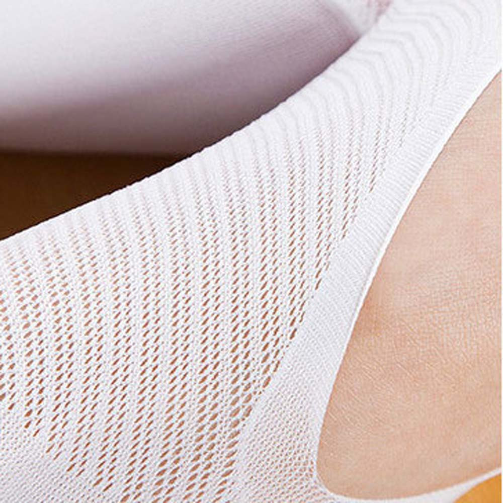 One Size Invisible Toe Socks Made With Cotton And Spandex Material For Daily Use 5