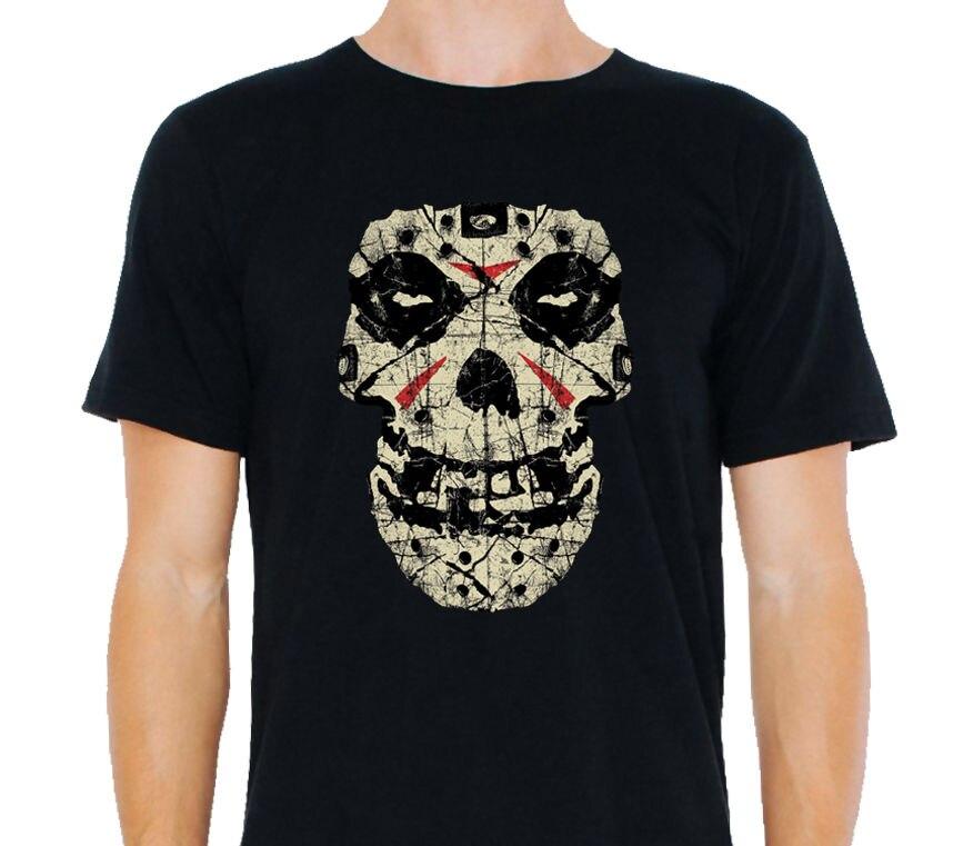 MISFITS - Friday The 13th Mens Black Size: S-to-XXXL Print T Shirt Mens Short Sleeve Hot Top Tee Print T-Shirt Men