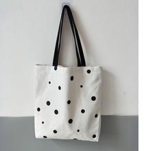 White Canvas Shopping Bag