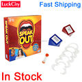Fast Shipping In Stock HOT 1 Set Speak Out Board Game Best Selling Interesting Funny Toy Party Game Gift For Family Friend Happy