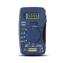Mini Digital Multimeter Pocket DMM AC/DC Current Voltage Resistance Mu