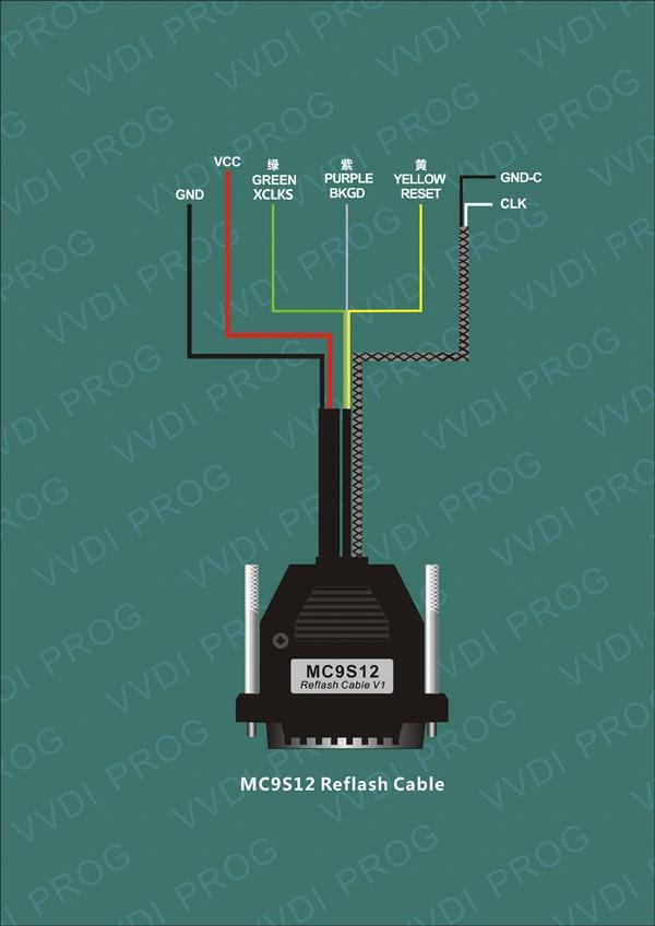 MC9S12 Reflash Cable