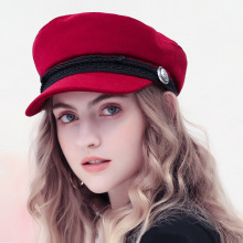 Winter Baseball Cap Women French Style W