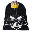 Sombreros de invierno de Star Wars Darth Vader de Punto Sombrero Casual Para Mujeres hombres Niños Cap Hip Hop Gorro Masculino Huesos Gorras Skullies Gorros