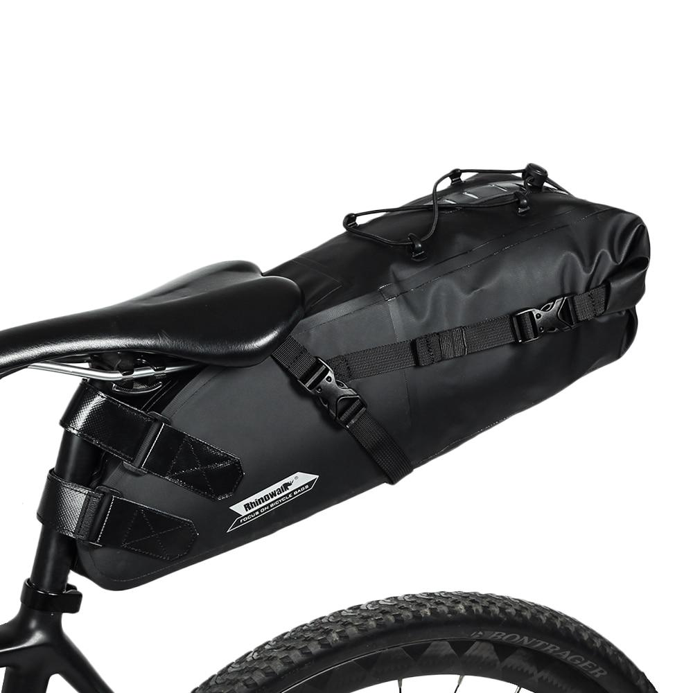 RockBros Waterproof Cycling Bike Bag Rear Bag Rack Pack Pannier Bicycle Bag 10L