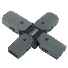 4 в 1 зарядное устройство для DJI Mavic/Pro EU быстрая умная мульти батарея интеллектуальная зарядка концентратор с ЖК-дисплеем Портативный