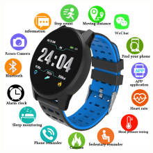 GEJIAN sports smart watch men women waterproof fitness pedometer Bluetooth heart rate monitor smart watch GPS Android ios(China)