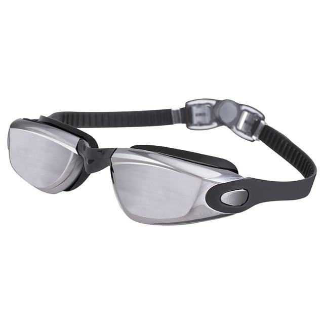 Agnite waterproof swim glasses HD Anti-Fog swimming goggles glasses F6121