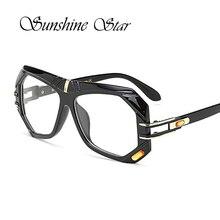 Pop Age High quality Oversized Clear lens glasses Women Men Brand Designer Square Glasses Retro Lunettes Gafas New Oculos