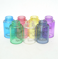 Replacement Glass Tube Cap 5ML Tank For Nautilus Atomizer 22mm Diameter Electronic Cigarette Accessories