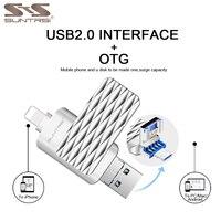 USB Flash Drive For IPhone IPad Android Pendrive 64GB USB 3 0 OTG Pen Drive Mini