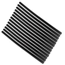 13 шт. клей-карандаш черного цвета с высоким клеем 7 мм для DIY ремесленных игрушек, Ремонтный инструмент