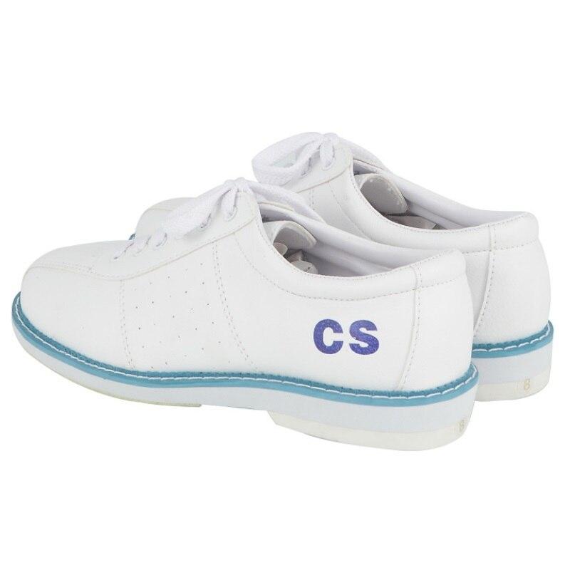 ჱ2018 todo blanco zapatos de bowling unisex principiantes ...