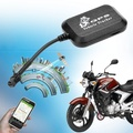 Mini GSM GPRS Tracking SMS Real Time Car Vehicle Motorcycle Monitor Tracker (Color: Black)