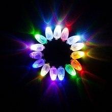 50 Шт. LED Лампа Загорается Шары Для Бумажный Фонарь Шар Партия Декор Цветочный Декор Воздушный Шар Света Свадьба Декор Цветочные декор