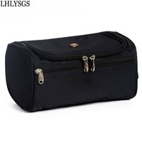Waterproof Polyester Women Cosmetic Bag Men Travel Trace High Quality Toiletry Wash Makeup Kits Storage Cosmetic