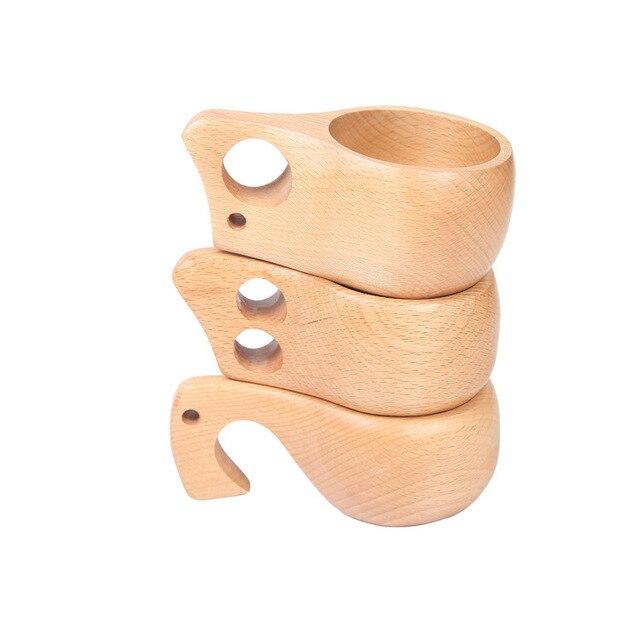 Kuksa Holz Tasse Lappland Finnland Milch Trinken Becher Tee Kaffee Freien  Hölzerne Becherschale Top Qualität 3