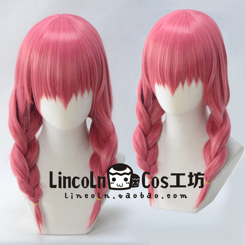 Blend S Esu Miu Amano Cosplay Wig Braids Role Play Synthetic Costume Hair + Wig Cap