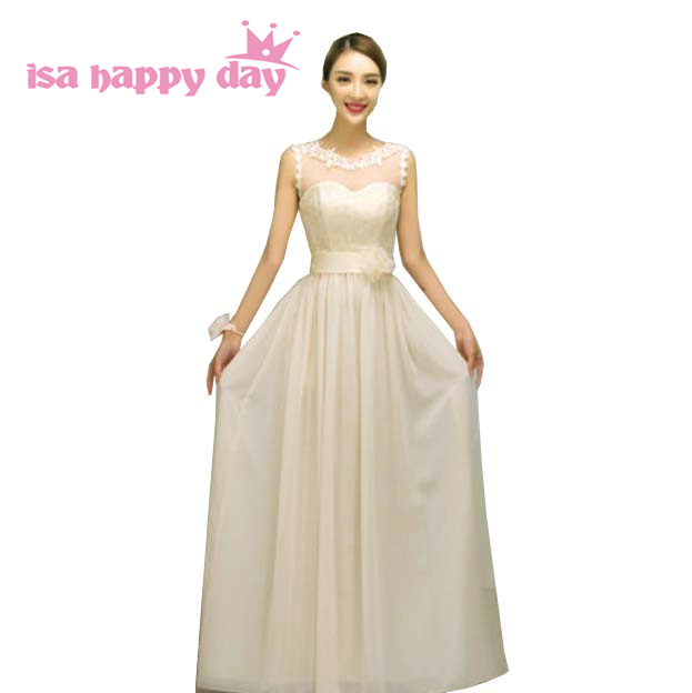 Mix Style Formal Western Faironly Champagne Colored Dresses Women For S Bridesmaid Vestidos Formales Custom Dress