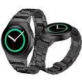 Новые Поступления Из Нержавеющей Стали Watche Band + Разъем Для Samsung Gear S2 RM-720 комфортно Высокое Качество Aug25