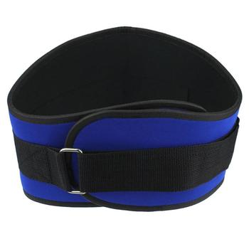 2017 Men Rubber Gym Back Waist Support Women Male Training Fitness Weight Lifting Belt Outdoor sports protective protector May26 Uncategorized