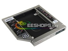 2nd HDD SSD Caddy Second Hard font b Disk b font Drive Enclosure CD DVD Optical