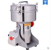 1500g Large Capacity Food Grinding Machine Stainless Steel Electric Spices Pulverizer Herb Grinder Mill Pepper 220v