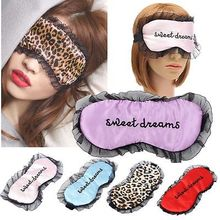 Travel Soft Silk Filled Sleeping Aids Eye Mask Cover Shade Blindfold Rest Shield 21.5*11