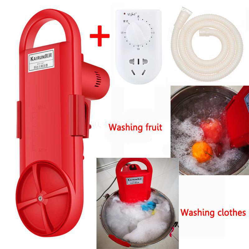 Portable Washing Machine Electric Clothes Washing Cleaning Device Student Dormitory Rent Room Household Washed In 5 Minutes(China)