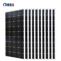 Xinpuguang 10*100w Solar Panel 1000w Photovoltaic Module Monocrystalline Silicon Cells 1KW Off Grid Systems 12v/24v Battery Kits