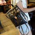 Nova chegada do verão seis cores limpar backpack school bolsas para adolescentes mochila transparente