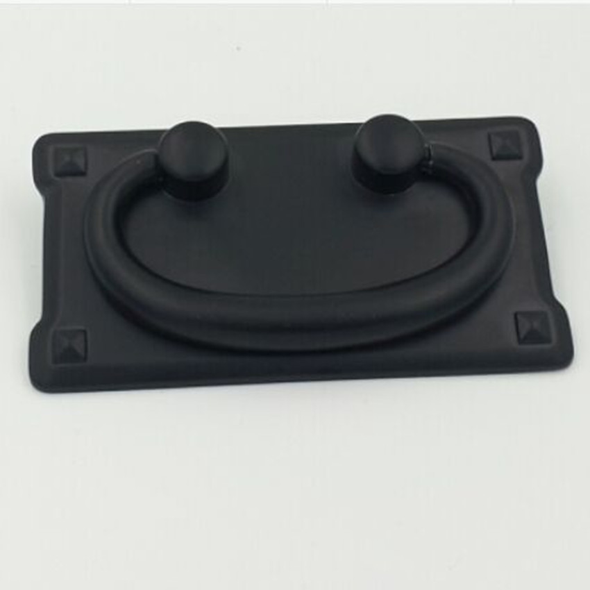 76mm Rustico Retro furniture handle black parallelmount drawer cabinet pull  antique black shaky drop ring dresserCompare Prices on Drawer Drop Pulls  Online Shopping Buy Low Price  . Drop Ring Drawer Pulls. Home Design Ideas