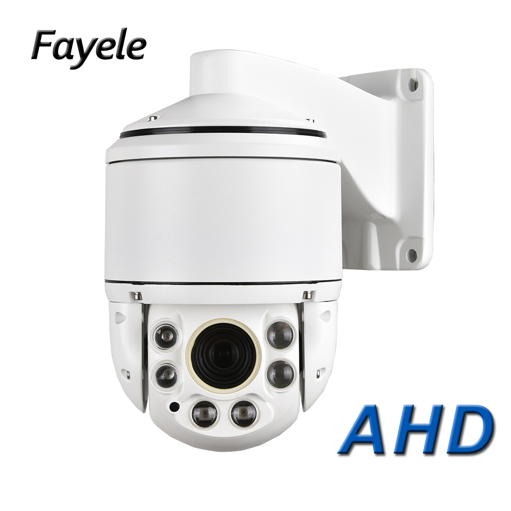 Outdoor CCTV Security Mini High Speed Dome AHD 1080P PTZ Camera 2MP 36X Zoom Auto Focus IR 100M Coaxial RS485 PTZ TVI CVBS 4IN1 цена 2017