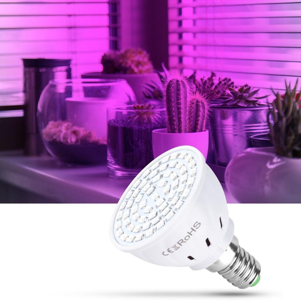 GU10 LED 220V Plant Light E14 Grow Bulb E27 Fitolampy MR16 Phyto Lamp Led 3W Full Spectrum