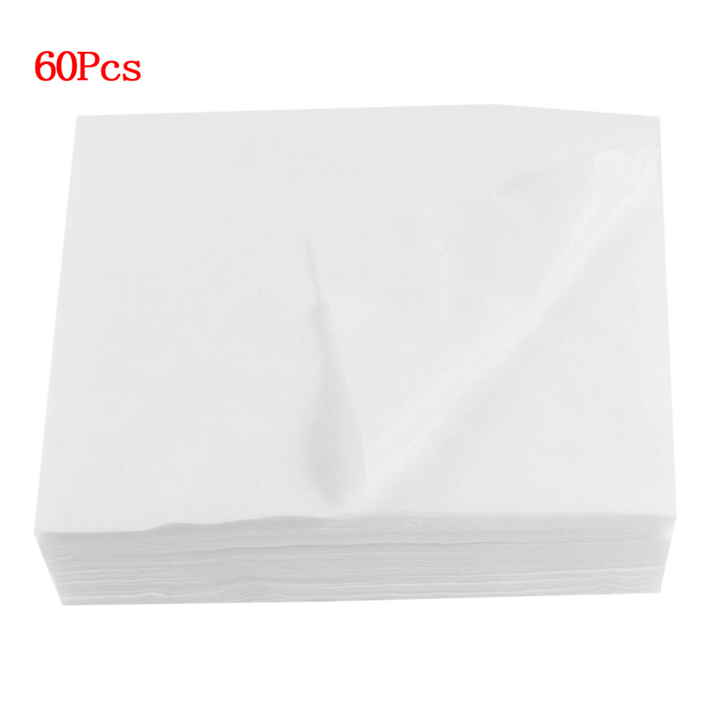 HHFF Sale Salon Beauty White Diaposable Face Wash Towels 60 In 1