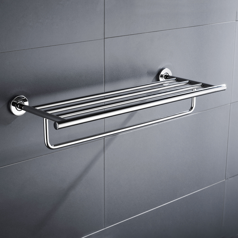Modern Bathroom Bath Towel Rack with Doublem Towel Bar Wall Mount Towel Rails Holder Storage Rack Stainless Steel Silver Color modern chrome fixed bath towel holder with hooks stainless steel towel rack holder for hotel or home bathroom storage rack shelf