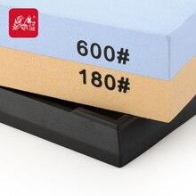 Grinder haushaltsdoppelseitigen schleifstein t6618w professionelle messerschärfer 600/180 grit-schleifscheibe stein taidea produktion