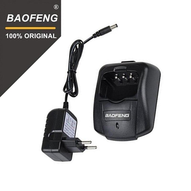 100% Original Baofeng UV-B5 UV-B6 Charger Two Way Radio 100V-240V Battery Charger For Pofung UVB5 UVB6 Walkie Talkie UV B5 UV B6