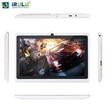 Оригинал iRULU eXpro X1 7 «Android 4.4 Таблетки 1024*600 A33 Quad Core 16 ГБ ROM Tablet PC поддержка Wi-Fi 2800 мАч w/RU Клавиатура