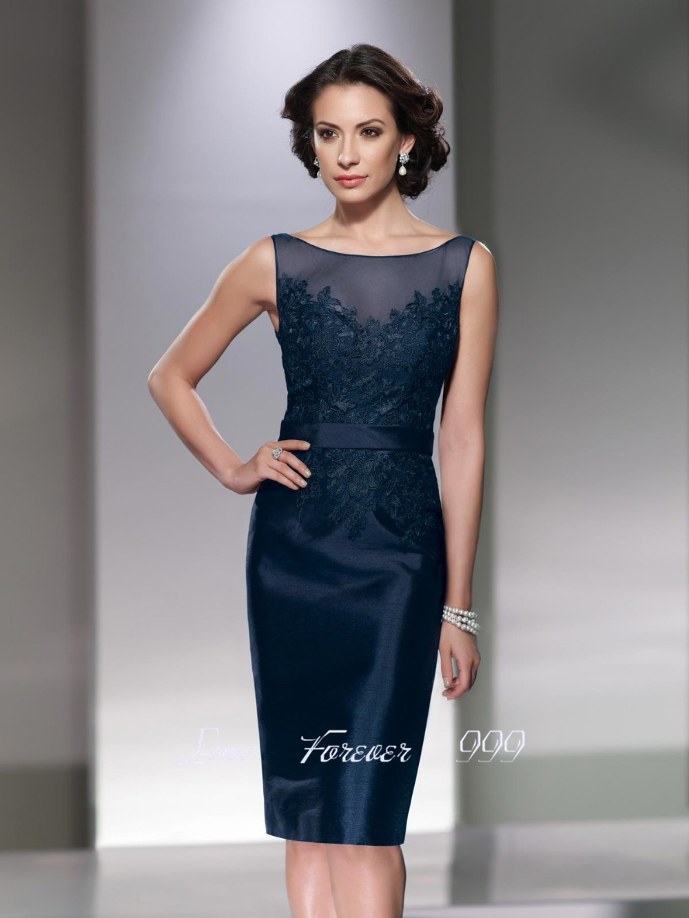 Robe de cocktail sheath short blue cocktail dress 2015 mother of the robe de cocktail sheath short blue cocktail dress 2015 mother of the bride dresses with jacket knee length brides mother dress in mother of the bride ombrellifo Gallery