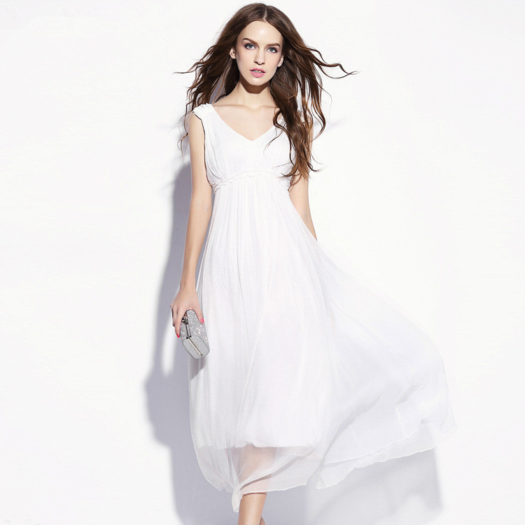 Online Get Cheap White Silk Dresses -Aliexpress.com - Alibaba Group