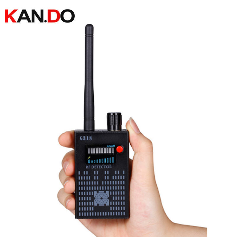 Anti Wireless Camera Detector Gps Rf Mobile Phone Signal Detector Device Tracer Finder 2G 3G 4G Bug Finder Radio Detection 1 pcs full range multi function detectable rf lens detector wireless camera gps spy bug rf signal gsm device finder