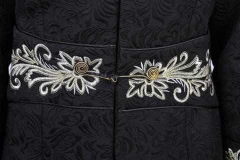 Sim L Coton Long Chinois Main Xl Épais Femmes Manteau Wj009 M Xxl Black Pardessus S Bouton Outwesr Hiver Noir Veste Chaud À La Xxxl 4Cq6q