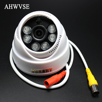 8pcs Lot Full HD 1080P AHD Camera Indoor 960P 720P Analog CCTV Camera 1 3MP 1MP