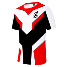 Avengers Endgame Quantum Realm Suits Women 3d T-shirt Marvel A4 Cotton Pink Top Cloth Shirt Girl Shirts Kawaii Tee Drop Shipping