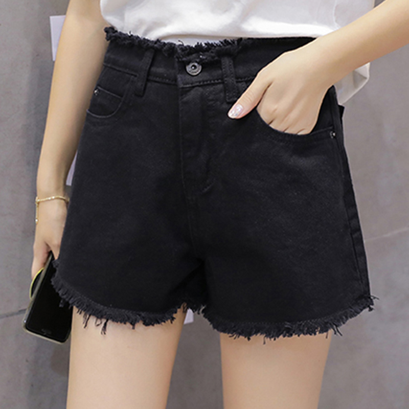 High Waist Shorts Women Wide Leg Sexy Shorts 2018 New Korean Fashion Summer White/black Short Ladies Trousers Female Clothing Wide Selection; Shorts Women's Clothing