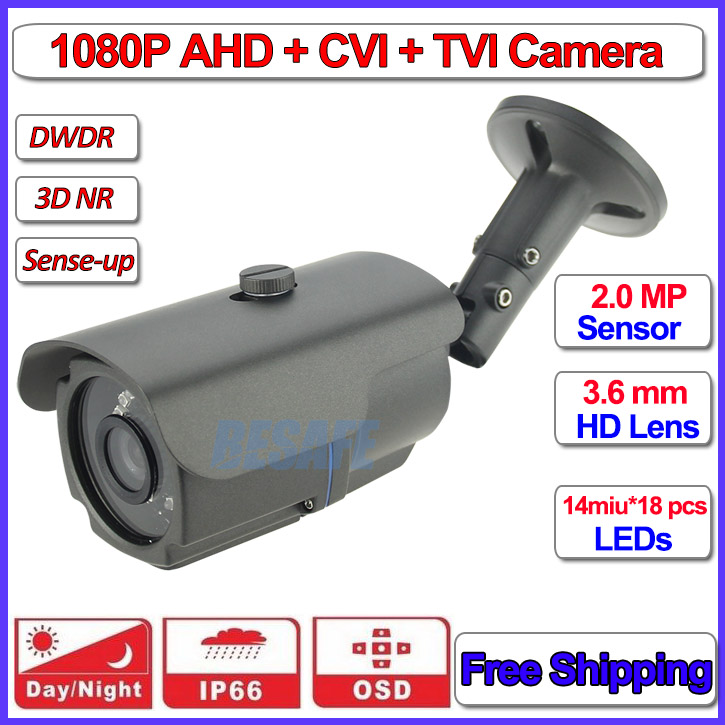ФОТО HD Analog cctv outdoor camera 1080P AHD H L IMX322 security product, 960H, OSD menu, 24pcs LEDs, HD Lens, DWDR, 3-Axis bracket