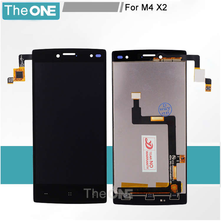 LCD DisplayTouchPanel For M4 X2 1212-0500054HZX FPC-T050UFH609NT-V04 MobilePhoneScreen TRUST CT050SG271-00 3030-0500214
