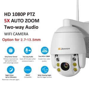 Image 3 - Jennov 5XZOOM PTZ IP Camera 1080P 2MP Two Way Audio Outdoor Video Surveillance Camera Wifi Home Security Wireless Wifi Cameras