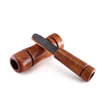 Drop Ship Hunting Whistle Decoy Imitate Pheasant Duck Call Voice Call Bird Goose Voice Trap Brown Oak Wooden Whistle